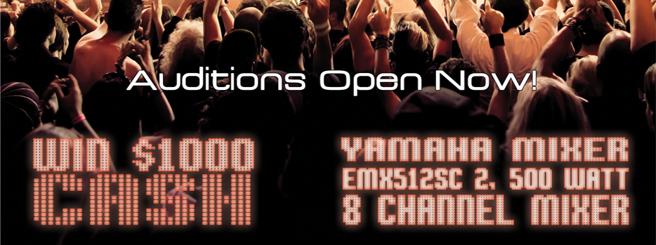 LIVE & UNSIGNED AUDITIONS