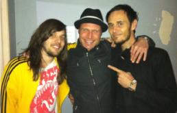 Peter Vox with Christopher De Cinque and Kim Benzie